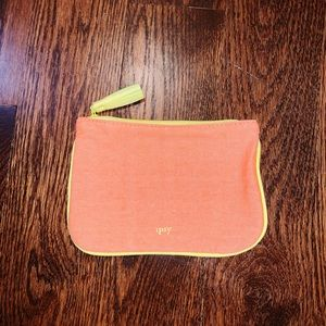 """Creamsicle"" Ipsy Cosmetic Bag"